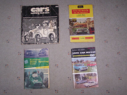 4 BOOKS BY KEITH WINSER MOTOR MANUAL EDITOR AND WRITE FOR THE AGE Whyalla Norrie Whyalla Area Preview