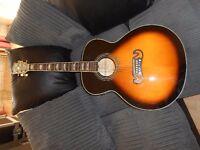 Gibson = Replica J200 Acoustic guitar
