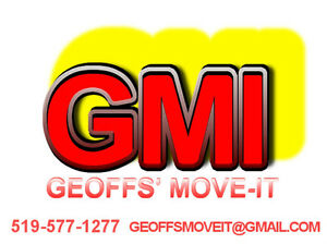 GEOFFS' MOVE-IT,Moving services Kitchener / Waterloo Kitchener Area image 1