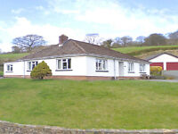 Mid-Wales, Spacious 4 Bed Bungalow, Stunningly beautiful location. For Sale or Rent. £995pm