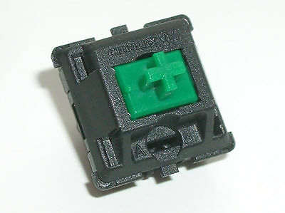 1 PCs Green Plate mounted Cherry MX Mechanical Keyboard Switch for Replacement