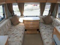 2008 Compass Corona 556 touring caravan