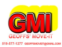 GEOFFS' MOVE-IT,Moving services