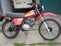 Honda XL 185 1979