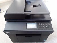 Pre-Owned Dell 2355DN Multifunction Mono Laser Printer Excellent condition + Two new Toners