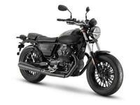 Moto Guzzi Bobber V9 Black NEW 2021 E5 updated model LED's & 65hp