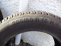 """4"""" As New"""" Winter Tyres for sale."""