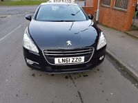 Selling my Peugeot 508 - 5500 £ (full service history) Active Hdi (112), 1560CC Diesel, 4DR, Manual
