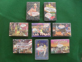 Playing card packs (sealed) from Las Vegas. X 8