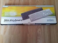 New PS/2 Keyboard + Optical Mouse