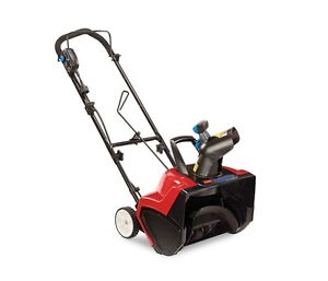 TORO Electric Snowblower from Home Depot
