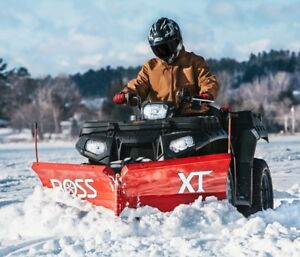 I' am on the hunt for a used ATV universal mid-mount snowplow