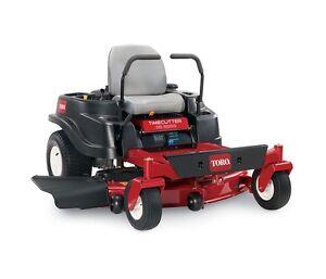 Toro zero turn lawn mower SS5000