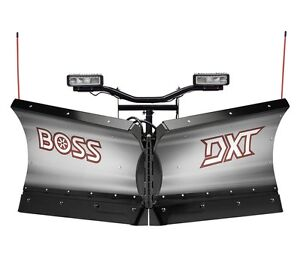 """2016 Boss DXT 9""""2 Stainless Steel Blade Only Plus Snow Shield"""