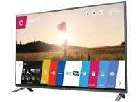 "LG 42LB630V 42"" Full HD Smart LED TV For Parts or Repair"