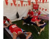 Volunteer Massage Therapist required for Team Shelter at Great North Run 2017