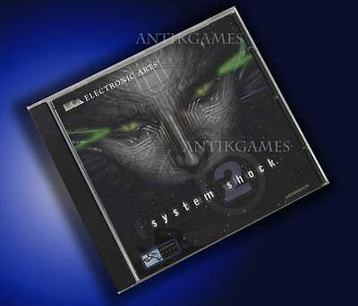 System Shock 2 II Systemshock von Looking Glass in Deutsch PC Kein Download online kaufen
