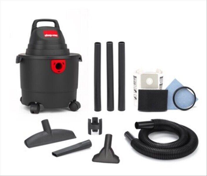 3 Gallon Shop-Vac Wet/Dry Garage Vacuum Construction Vacuum