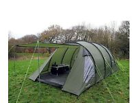 **MUST SELL** Massive Camping Lot Tent, Table, Cupboard, Chairs, Electric Hook Up, Fridge, Cooker