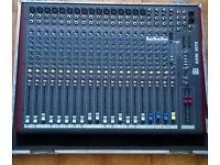 Allen & Heath ZED22FX Audio Mixing Desk Mixer + Flightcase