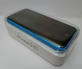iPhone 5C - 16GB - Smartphone-Blue -on EE network