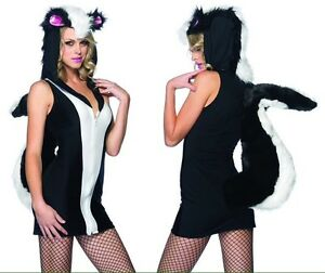 Ladies skunk costume size small St. John's Newfoundland image 1