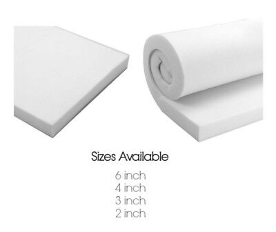 Foam Crafts Thick Cushion Upholstery Multipurpose Thick Recyclable Various Sizes
