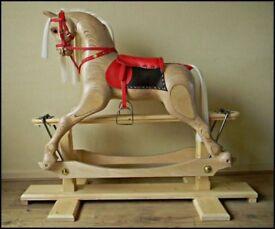Medium size Rocking horse