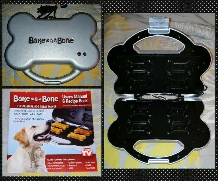 Bake-A-Bone The Original Dog Treat Maker As Seen On TV Treats Snacks~NEW W/O BOX