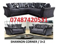 luxury farrow 3+2 / Corner Sofa £369