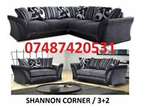 luxury farrow 3+2 / Corner Sofa £369
