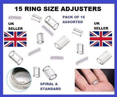 15 Ring Reducer Clip Guard Spiral Adjuster Wrong Size Resizer Snuggies Snugs