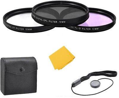 Zeikos 72mm Filter Kit For Sigma Lens 18-300mm Sigma 17-7...
