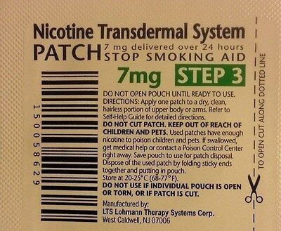 Habitrol Nicotine Transdermal System Stop Smoking Aid Patch,