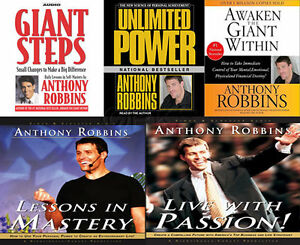 NEW-17-CD-5-sets-Anthony-Tony-Robbins-Lessons-in-Mastery-Live-with-Passion-nlp