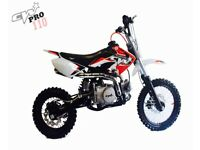 Brand new 2018 modal cw bikes pro 110 pitbike/minibike/not stomp/Welsh pitbike/xport/thumpstar/mx