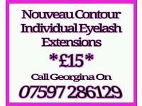 Nouveau Contour Eyelashes mobile service