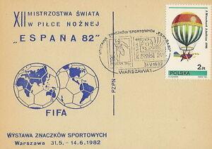 Poland postmark WARSZAWA - sport football philatelic exhibition (analogous) - Bystra Slaska, Polska - Poland postmark WARSZAWA - sport football philatelic exhibition (analogous) - Bystra Slaska, Polska