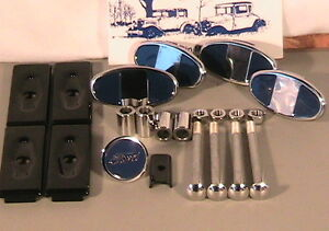 1928 & 1929 Model A Ford Bumper Hardware Set in Stainless Steel
