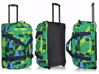 Chiemsee Sport Rolling Duffle Large 2 Wheels Traveling Bag Duffle............Brand New