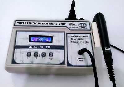 3 Mhz Ultrasound Therapy Physical Pain Relief Full Body Pain Relief Delta 03 6j