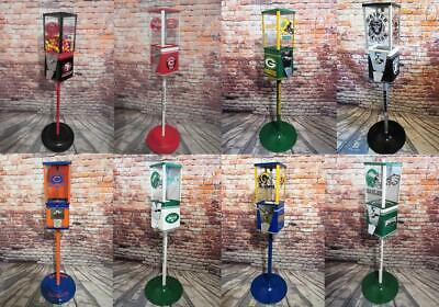 Customize your own vintage gumball machine candy machine sport memorabilia gift