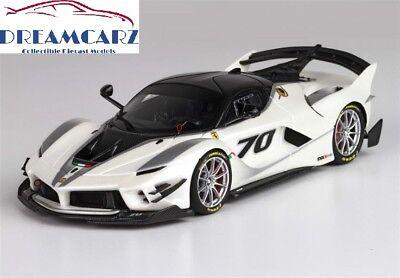BBR 1/43 2017 Ferrari FXX K  EVO BBRC210A - with Display Case - Lmtd 425 (2017 Ferrari White)