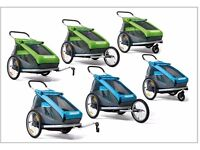 Croozer Kid for 1 - Three in one child transporter - stroller, jogger and Bicycle Trailer