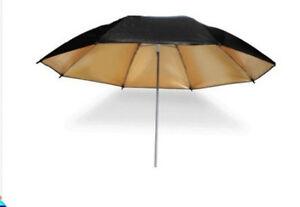 33-Studio-Flash-Light-Reflector-Black-Gold-Umbrella-Photography-tool-83cm