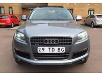 LHD LEFT HAND DRIVE AUDI Q7 3.0 TDI 2006 QUATTRO S-LINE PANORAMIC SUNROOF SAT NAV GREY IMMACULATE