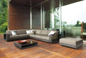 HIGH-END Wicker Rattan TABLE and SOFA sets! EXCLUSIVE MODELS!