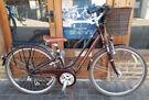 Ladies dutch bike LIV with basket, 7 speed, medium alloy light frame, serviced at workshop -warranty