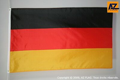 BANDIERA GERMANIA 150x90cm - GRAN BANDIERA TEDESCA 90 x 150 cm Poliestere legger