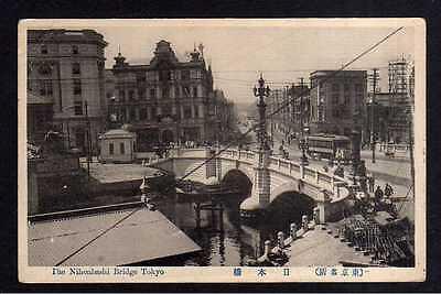 110770 AK Tokio Tokyo Japan The Nihonbashi Bridge Brücke um 1915